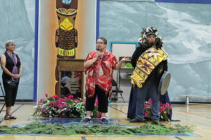 Chief Marilyn Gabriel of Kwantlen First Nation